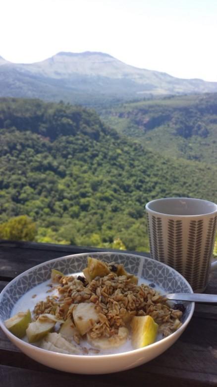 Hogsback Frühstück
