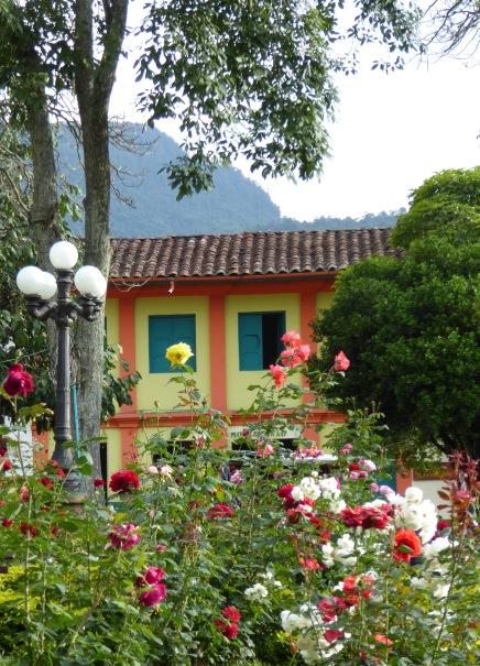 park parque flores jardin antioquia colombia