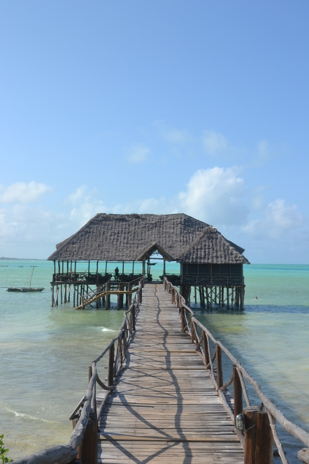 Jambiani Sansibar Insel Paradies Reef Beach
