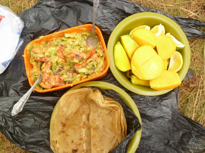 Mittagessen Tansania Usambara-Berge