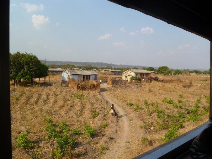 Tanzania Sambia train ride