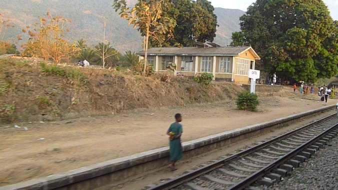 Zugfahrt Afrika
