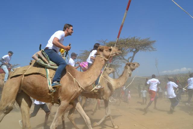kamel rennen