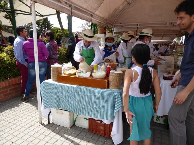 guasca-cundinamarca-markt